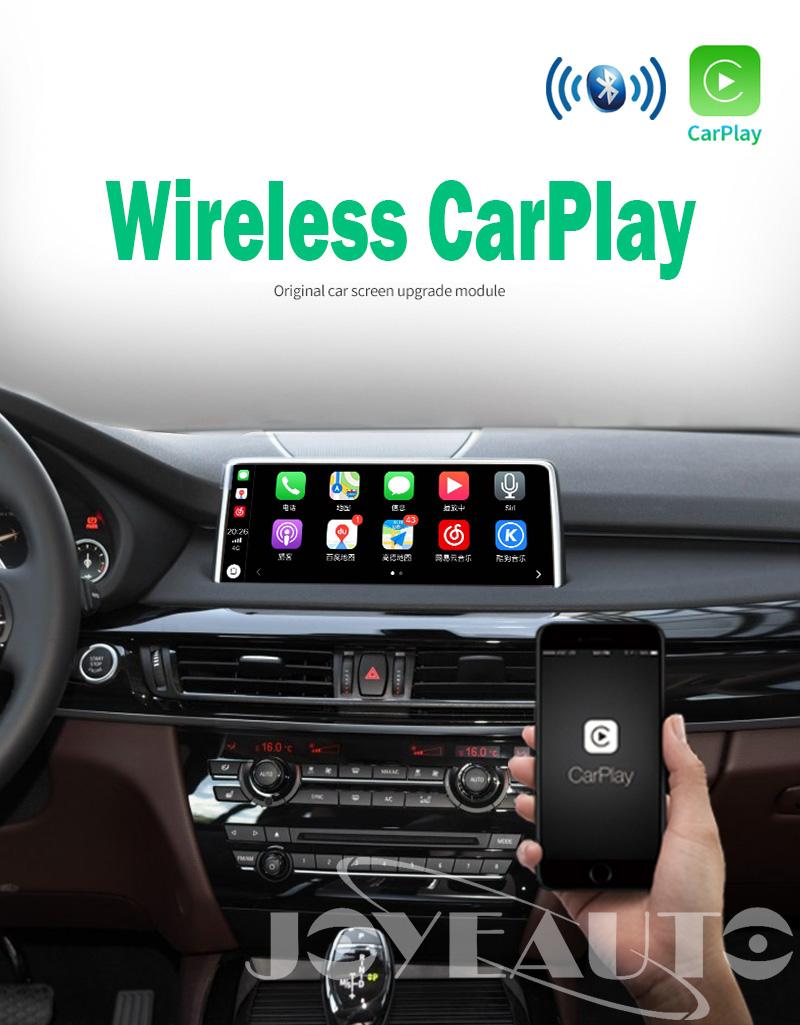 BMW X5 F15 X6 F16 2012-2017 NBT WiFi Wireless Apple CarPlay Interface  Retrofit