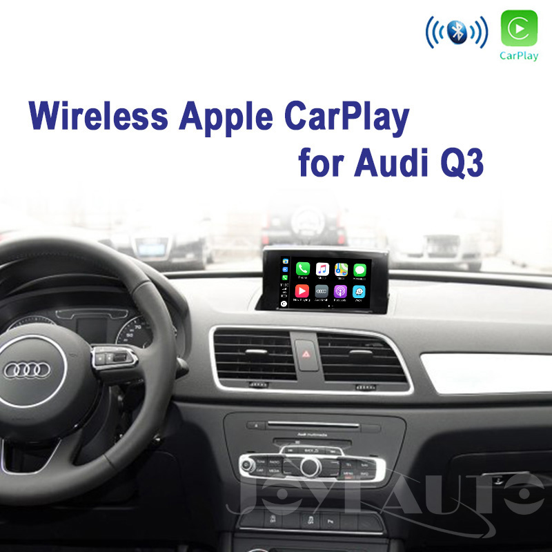 Audi Q3 MMI 2G 3G Wireless Apple CarPlay Retrofit