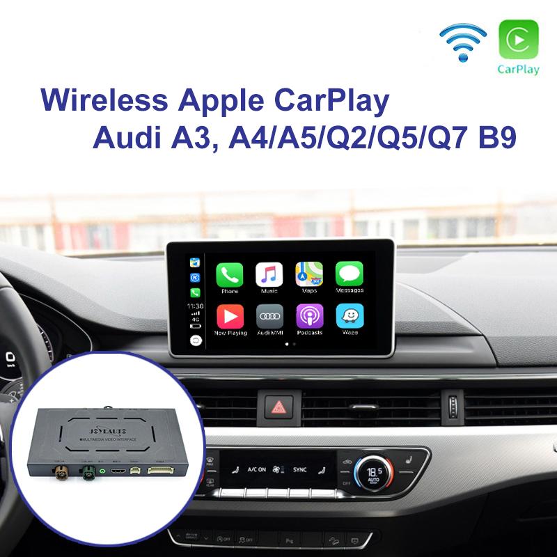 Audi A3 MMI 3G A4/A5/Q2/Q5/Q7 B9 MIB WiFi Wireless Apple CarPlay iOS  AirPlay Retrofit