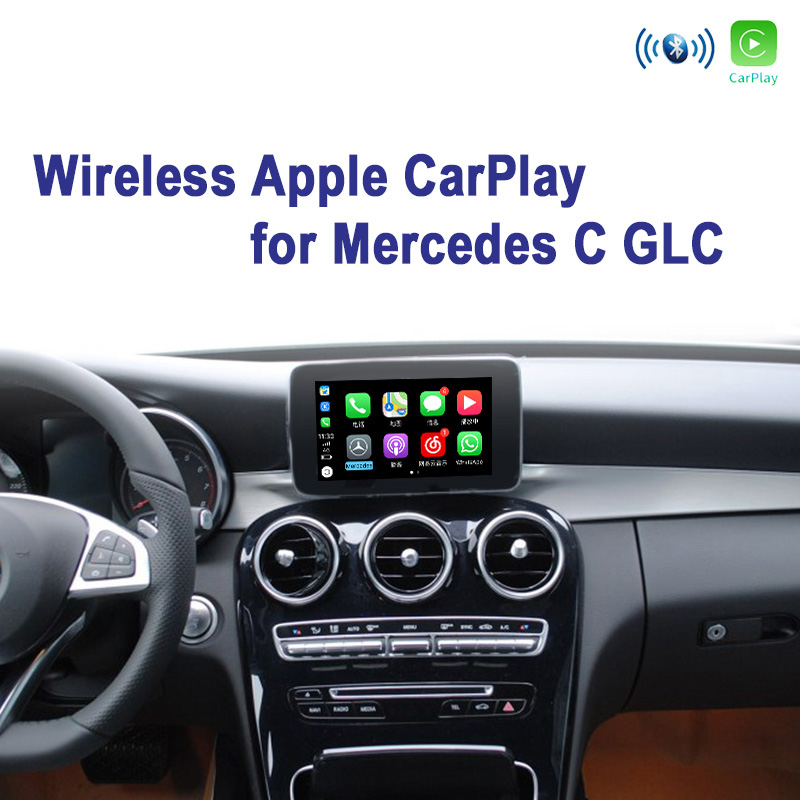 Mercedes C W205 GLC X253 NTG5 WiFi Wireless Apple CarPlay Interface