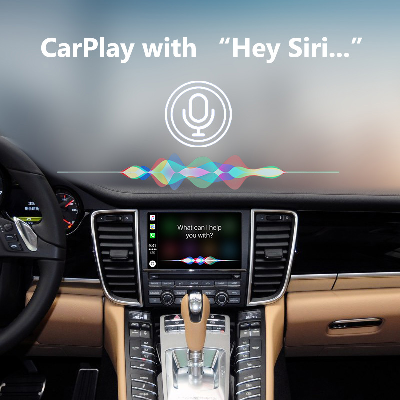Porsche Panamera PCM3 1 WiFi Wireless Apple CarPlay Interface