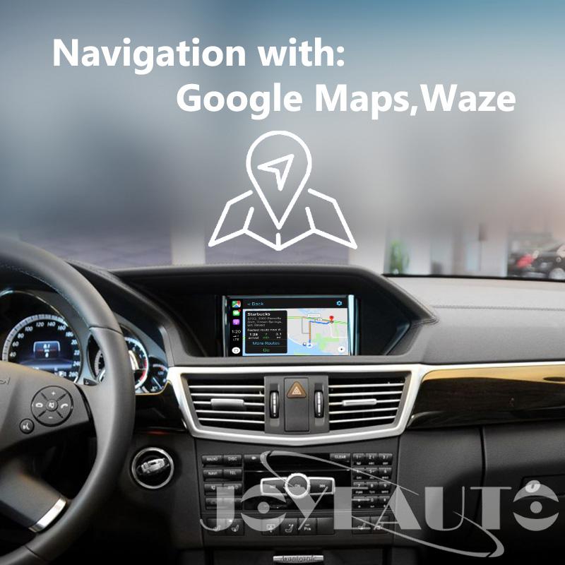 Mercedes E class W212 NTG4 5/4 7 WIFI Wireless Apple CarPlay Solution