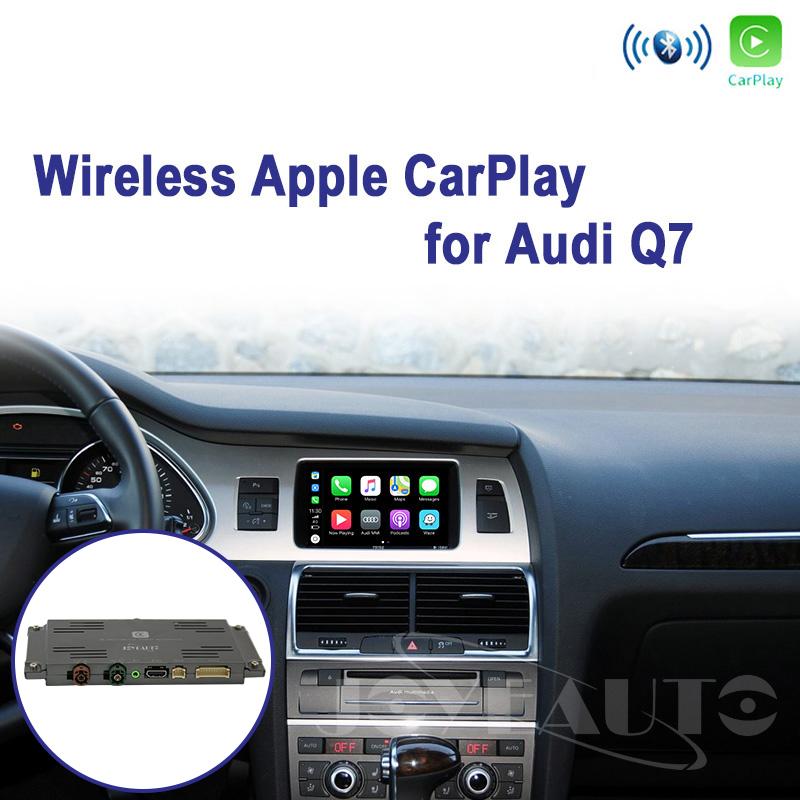 Audi Q7 MMI 3G 3G+ 2009-2011MY WIFI Wireless Apple CarPlay Retrofit